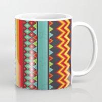 mexico Mugs featuring Mexico by rusanovska