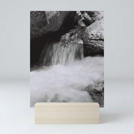 Ure river #9 Mini Art Print