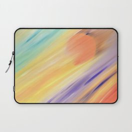 """Catch the Sun #1 – New #1"" Oil Painting Laptop Sleeve"