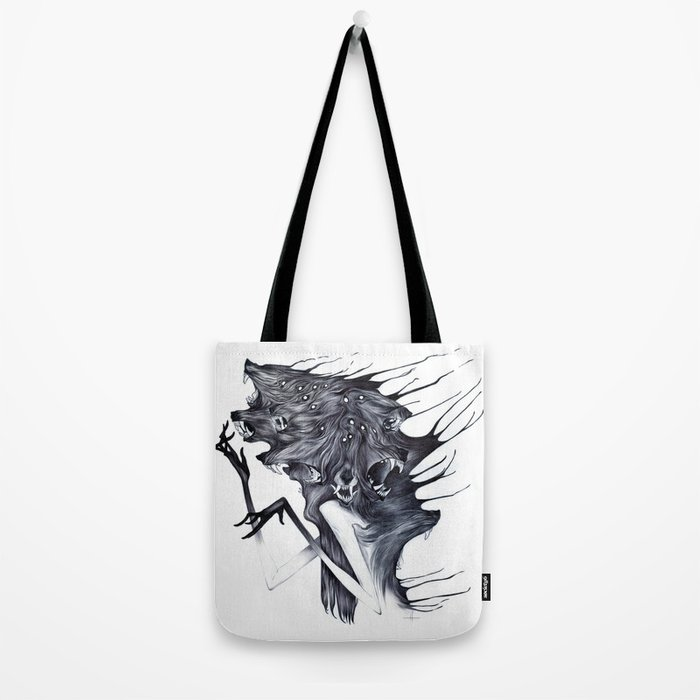 A Forest's Darkness Tote Bag