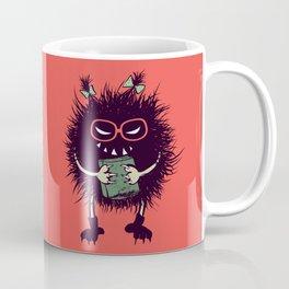 Evil Bug Student Loves To Read Coffee Mug
