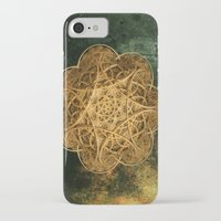 celtic iPhone & iPod Cases featuring Celtic Gold by Lynn Bolt