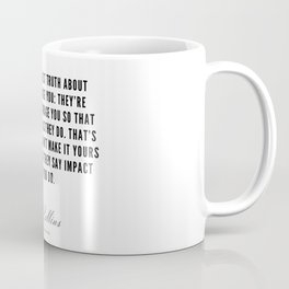38  | Mel Robbins Quotes | 190802 Coffee Mug
