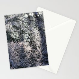 Frosty forest Stationery Cards