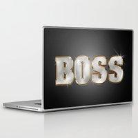 boss Laptop & iPad Skins featuring Boss by MG-Studio