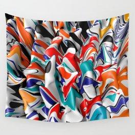 Trippy Pop Fluid II Wall Tapestry
