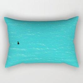 Duck on Water Rectangular Pillow