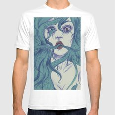 Octopus S.Y. MEDIUM White Mens Fitted Tee