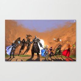 Vox Machina Canvas Print