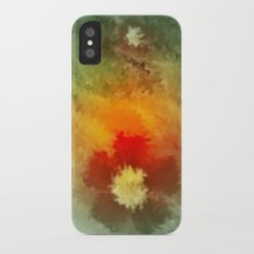 Summer floral wallpapaer. Slim Case iPhone X