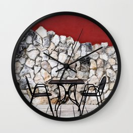 Passion For Dining Wall Clock