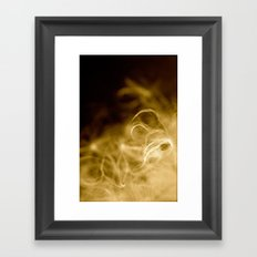 The seeds of content Framed Art Print