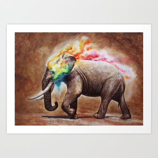 Colorful of Journey No.1 Art Print