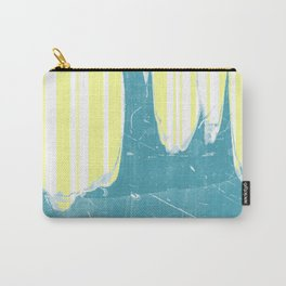 water&yellow stripe Carry-All Pouch