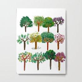 Tree backgound Metal Print
