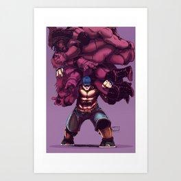 Cena Art Print
