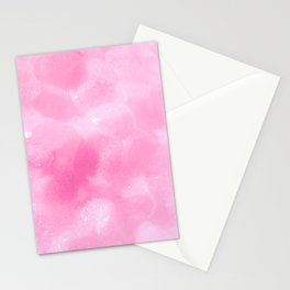 Light Pink Foam Plastic Texture Stationery Cards