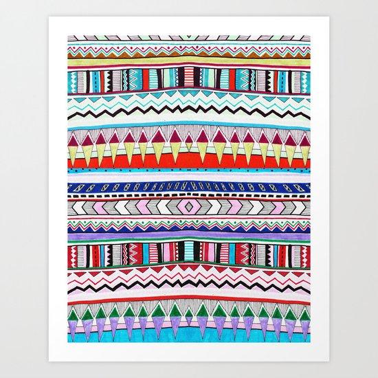 VIVID HUYANA Art Print