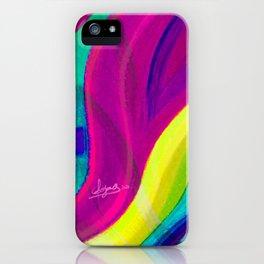 Fragmentos de matices de vida color 3 iPhone Case