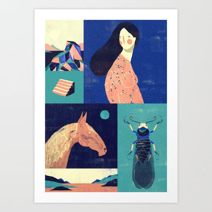 Sarashiva III Art Print