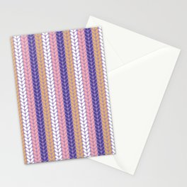 Knitted Pattern Stationery Cards