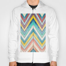 colorful mountains Hoody