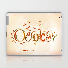October Laptop & iPad Skin
