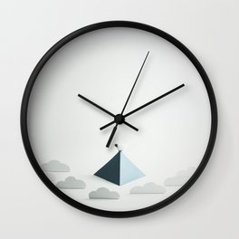 I Thought They were My Friends Wall Clock