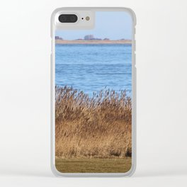 At the beach 7 Clear iPhone Case