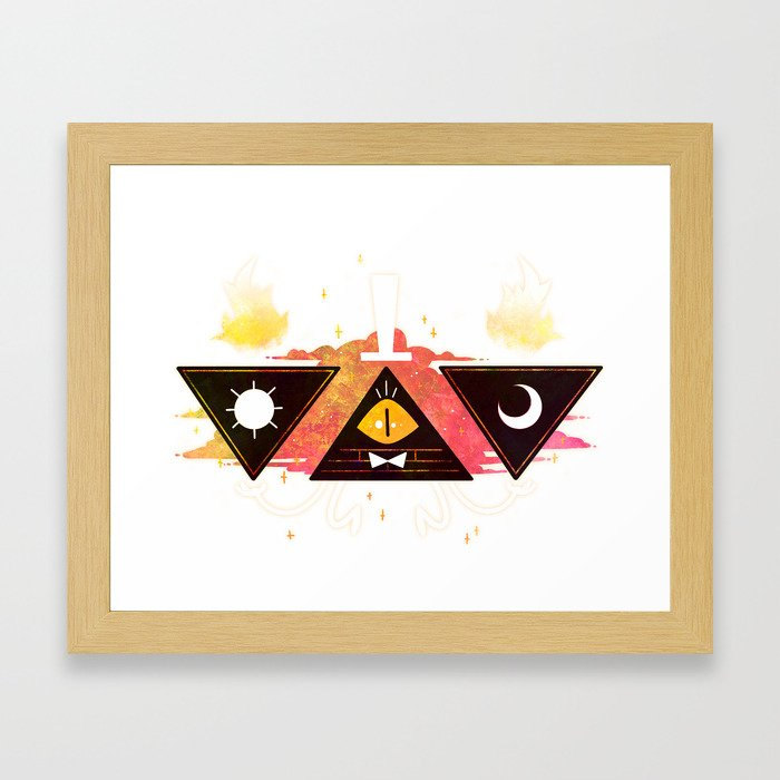 ...Scale of Fate... // Bill Framed Art Print