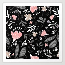 Spring Flowers Style P Art Print