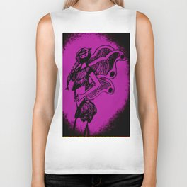"Women with no faces--series ""Fairy Biker Tank"