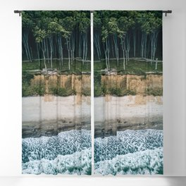 Waves, Woods, Wind and Water - Landscape Photography Blackout Curtain
