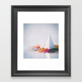 INTO THE MURK (everyday 03.17.15) Framed Art Print