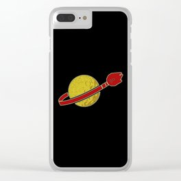 (League of Extraordinary Galactic Outlaws) Falcon Style Clear iPhone Case