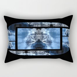 Tree Man Night photography Rectangular Pillow
