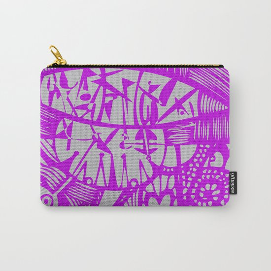 INK#8 Dawn Dance  Carry-All Pouch