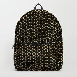 tiny honeycombs Backpack