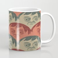 it crowd Mugs featuring CROWD by Renato Klieger Gennari