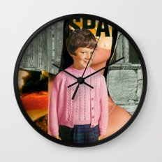 Check Your Head V1 (collaboration with the talented Marko Köppe) Wall Clock