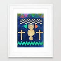 hercules Framed Art Prints featuring Hercules by Diego Ascoli
