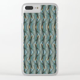 Lost in the Shuffle Clear iPhone Case