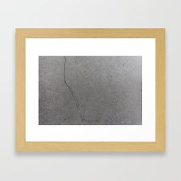 Cement / Concrete / Stone texture (2/3) Framed Art Print