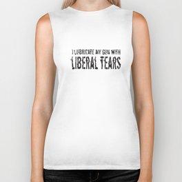 Liberal Tears Patriotic American Gun Gifts Second Amendment Veteran T-Shirts Biker Tank