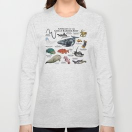 Animals of the Great Barrier Reef Long Sleeve T-shirt