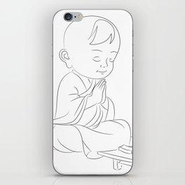 zen attitude iPhone Skin