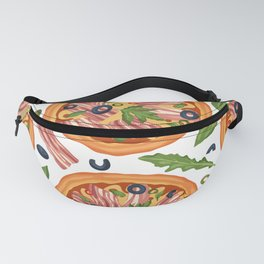 Cute Pizza Patter For Food Lovers Fanny Pack
