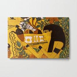 Egypt Art Metal Print