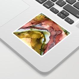 rainbow geode Sticker