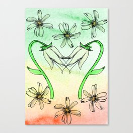 Innocent Spring Canvas Print